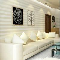 Modern & Minimalism striped wallpaper for Livingroom_Bedroom