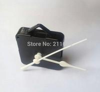 Free ship,2014 design New DIY axis Quartz Clock Movement Kit Spindle Mechanism Tool shaft 9mm + 135mm white clock hands