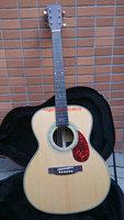 39 inches Classic Acoustic Guitar OMJM Natural AAA Solid spruce Ebony fingerboard / Ebony Bridge China Guitar 2015 NEW