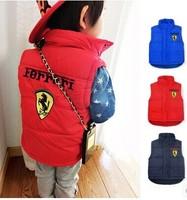 2014 Autumn / Winter  Children's  vest  Brand jacket  Warm coat  Boys girls waistcoat Children's Tops Free shipping