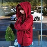 2014 Autumn Spring  new Korean Style Women Coat  New leisure sweet frock coat Outwear Overcoat Trench