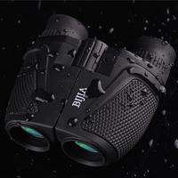 High Times Waterproof Large Eyepiece(Green Film) Portable HD 12x25 Binoculars BAK4 Telescope Hunting/Birding/travel