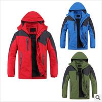 Men's outdoor sports monolayer Jacket / Men coat / male taxi velvet jacket / windbreaker size:XL-4XL