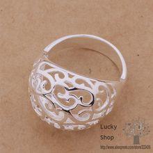 AR331 925 sterling silver ring, 925 silver fashion jewelry, carefully crafted/Carve patterns /egtamyaa avhajmoa(China (Mainland))