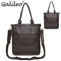 2014 Korean fashion casual men PU leather handbag High quality shoulder bag Messenger bag business men's handbags Laptop Bag