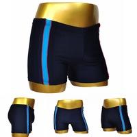 European large size men's swimming trunks nylon boxer swim trunks upscale swimwear free shiping 2014