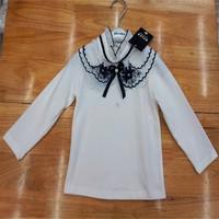 Package mail cotton shirt collar girl han edition detonation model