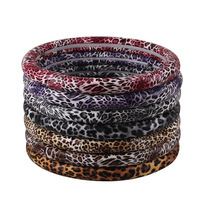 Free shipping car steering wheel covers hot new sets of car sets of car accessories Leopard grain steering wheel covers