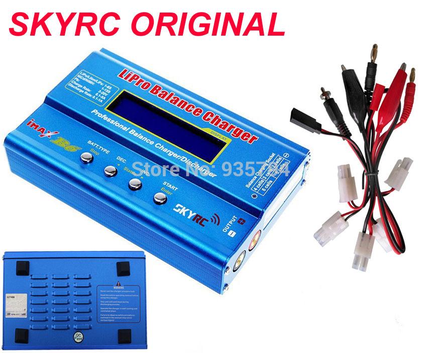 Skyrc imax b6 rc lipo nimh аккумулятор цифровой баланс зарядное устройство с т вилка или tamiya коннектор calbe