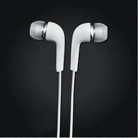5pcs/lot In-Ear Headset Earphones Earbuds with Mic for Samsung Galaxy S4 S5 SIV i9500 White