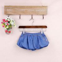 2014 Summer Girl's Jean Skirt Children's Dresses Denim Cotton Baby Skirt  0-2Years