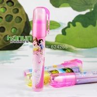pencil eraser new lipstick  shape cute school supplies for student school eraser 3 pieces /lot