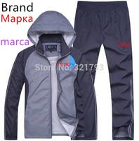 Free shipping,2014 new brand Sport Suits outwear Hoodies Men clothing Set Men's Tracksuit Man Sportswear Jackets male Sweatsui