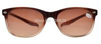 FR007-Bifocal  Free Shipping Quality Wayfarer Style Long Arms Bifocal Sunglasses Brown Lens +1.00--+2.50