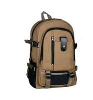 Wholesale korean style women and men vintage shoulder canvas backpack travel bag multifunctional computer bag school bag