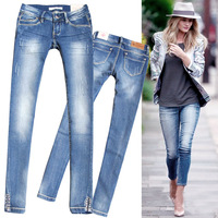 2014 new DSQ Brand Spring  beading tight-fitting jeans  skinny pants