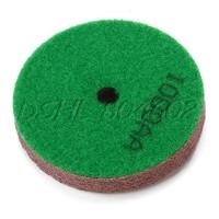 Dark Green Marble Stone Polisher Sponge Diamond Polishing Pad 1000 Grit Dia80