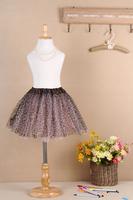 2014 Free Shipping Retail Cheap Tulle Layered Tutu Toddler Girl Mini Short Skirt Tutu Skrits