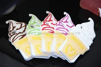 HOT McDonald's ice cream mobile phone shell, phone cases for iphone 5 5S ice cream cones silicone mobile phone