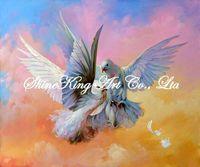 handmade  oil painting on canvas impressionist  bird  painting  Bird1195 50x60cm