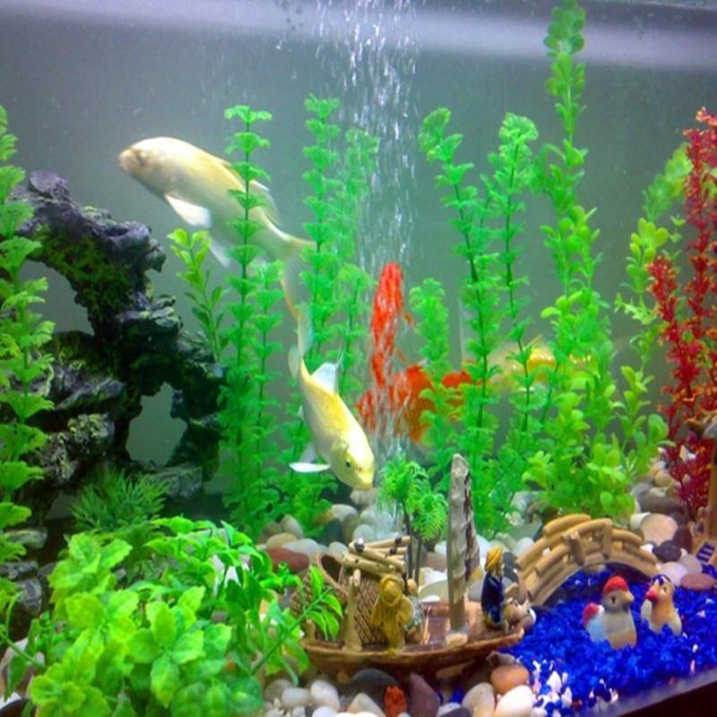 The simulation flower80 120 fish tank aquarium decorative for Decoration zen aquarium