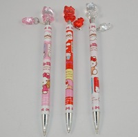 Cute Beautiful Hello Kitty with Pendant 0.5mm Ball-point Pen