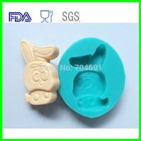 12 Zodiac  Animal Shaped Rabbit  Candy Chocolate Soap Cake Silicone Molds DIY