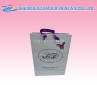 Wholesale luxury boutique paper shopping bag