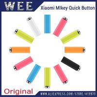 Original XIAOMI Mobile Phone MiKey / Mi-Key / Mi Key click Pressy Quick Smart Button little 3.5mm Earphone Jack dust Plug