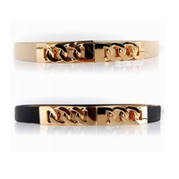 3pcs/lot Wholesale Metal Twist Chain Elastic Women's Belts for Trousers Dress Cummerbund 2014 New Cintos Femininos Ceintures
