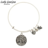 2014 Newest Women Fashion Metal Alloy Charms Alex And Ani Bracelets Bangles Various Styles Free Shipping