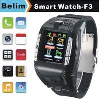 "Mini Watch Phone F3 GSM Smart MP3/MP4 Watch 1.4"" Screen Support WAP GPRS Camera FM Micro SD card"