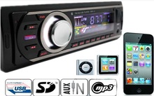 1 pcs Car Sound Stereo In-Dash Car  MP3 Player Radio With USB/SD Input FM Receiver high quality(China (Mainland))