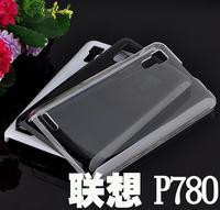 For Lenovo Mobile Shell, For Lenovo P780 mobile phone case, P780 plastic pan, For Lenovo P780 crystal transparent shell