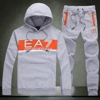 2014 New Brand Hoodies Set Sweatshirts+pants Suit 2 pieces/lot Cotton Full Length Hooded Belt M-XXL Suit