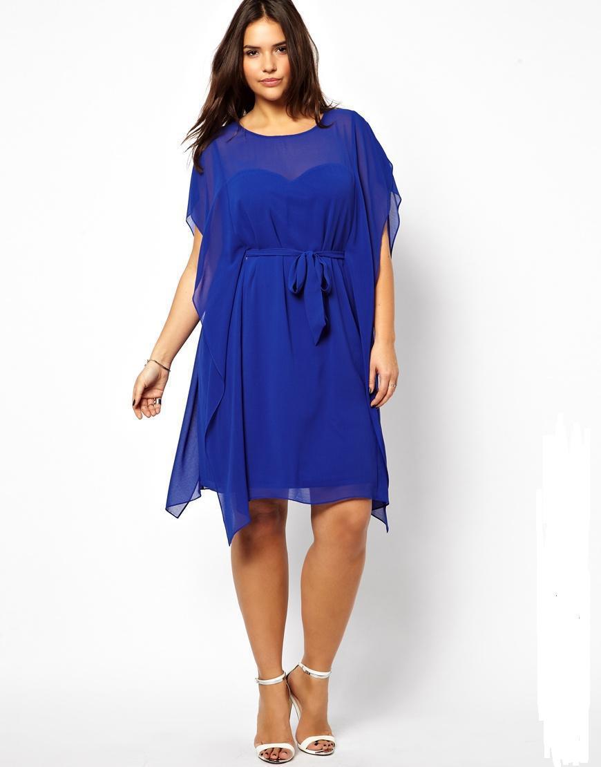 Wedding Plus Size Chiffon Dresses similiar chiffon plus size summer dress keywords 2015 women blue 4xl 5xl 6xl irregular