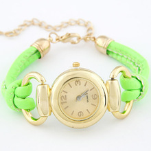 2014 Hot Sale New design Concise fashion casual women s bracelet watch free shipping High Quality