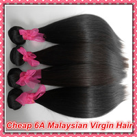 1 Bundle of  Malaysian Virgin Hair Straight Extensions,Unprocessed Human Hair Weaves