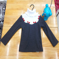 Retail packages mailed lace girl ZhongTong cotton shirt