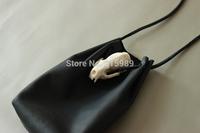 100% Real Leather Shoulder Bags Cowhide Ancient design women bag