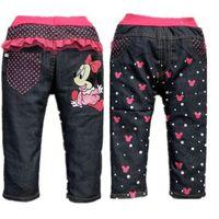 2014 Fashion New Girls Jeans Kids Pants Baby Fashion Pants Jeans Girls Kids Freeshipping