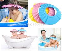 Newborn Baby Bebe Infantil Girls Boys Children Kids Shower Wash Hair Shower Hat Bathing Caps Shampoo Shield Gorros Touca Chapeu