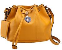 2014 Japan and South Korea style wonderful bucket bag pulling belt buckle tide Bag Messenger Shoulder Bag