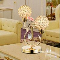 Modern crystal decoration lamp sitting room bedroom restaurant study energy-saving lamp YSL-CTB22 Free Shipping