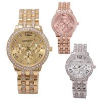 2014 Fashion Ladies Quartz Wristwatch Luxury Brand Women Dress Watches Full Steel Women Rhinestone Watches Casual Relogio