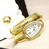 Martian man 2014 new arrival fashion high quality women snake bracelet watch fashion watch free shipping D0012