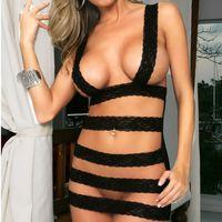 2014 Women Erotic Lingerie Sexy Stripper Clubwear Lace Sleepwear Open Bra pajamas Costume sexy Underwear fantasias femininas
