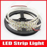 SMD 2835 LED Strip Waterproof 12V LED Light Home Car Luminaria Luz Ribbon Lamps 120 Leds/m 5m 600 LED Cool Warm White 5m/Lot