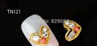 9*10mm alloy nail decoration,  nail decoration for nail ornement free shiping