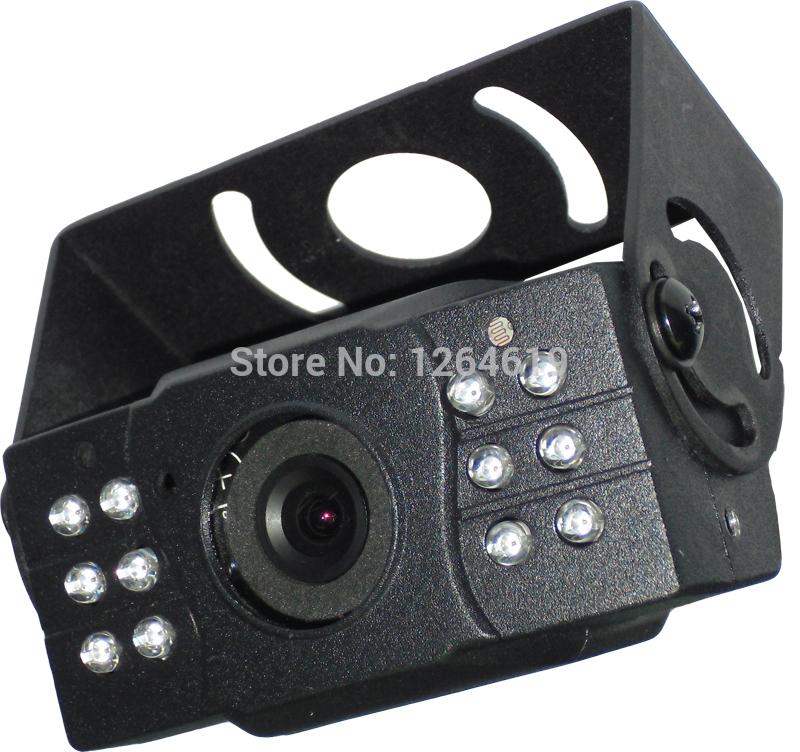 "IR Day Night Vehicle Metal Box IR Camera Vehicle Surveillance 1/3"" Color Sony 700TVL 0.05 Lux 12 Leds NC2090 811 freeshipping(China (Mainland))"